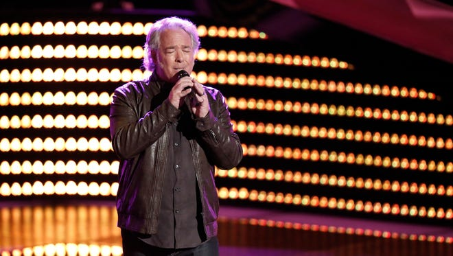 """Mt. Juliet resident Dan Shafer sang on """"The Voice,"""" which aired Tuesday."""