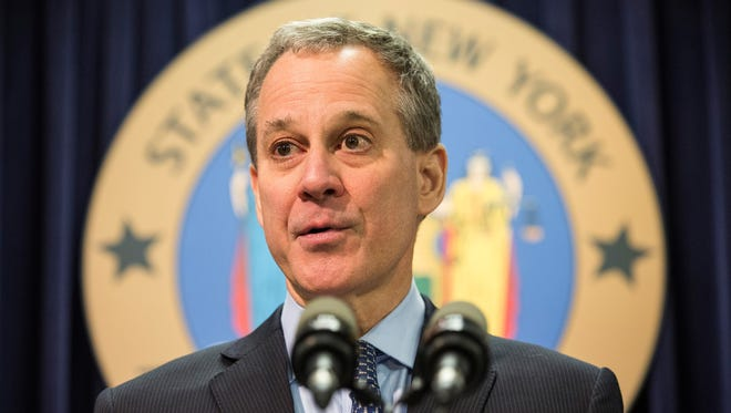 Former New York Attorney General Eric Schneiderman