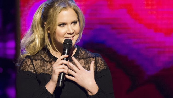 Amy Schumer brings her gender-conscious humor to Joe Louis Arena on Friday.