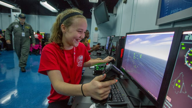 The National Flight Academy will offer a new three-day STEM cruises.