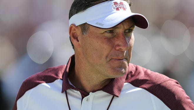 The top priority of Mississippi State's new athletic director will be Dan Mullen.