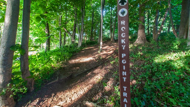 File photo of Hartshorne Woods Park.