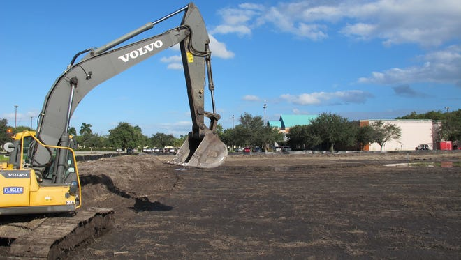 Volvo of Bonita Springs and Bonita Springs Infiniti plan new, larger car dealerships on more than 11 acres recently cleared just west of Hollywood 20 cinema, background, on Naples Boulevard in North Naples.