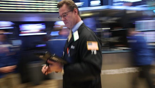 Oct. 28 -- today's date -- has been the best day of the year for stocks, since 1950, LPL Financial says. Traders work on the floor of the New York Stock Exchange on Oct. 7, 2016.  (Photo by Spencer Platt/Getty Images)