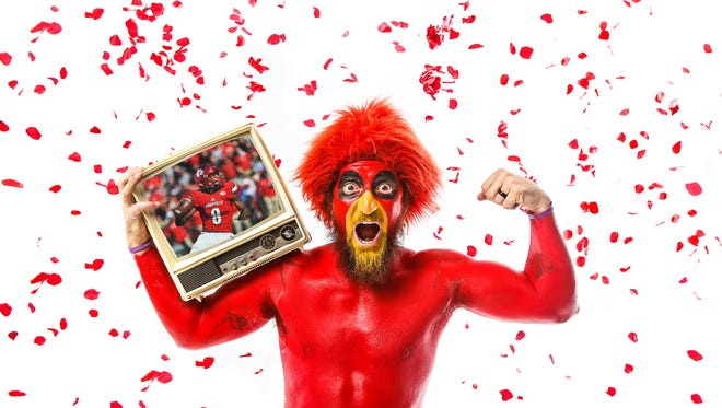 Gary Budd, also known as Gary the Redbird, has made it to the national round of the 'Best Ever Fan' contest hosted by USAToday.Nov. 7, 2016