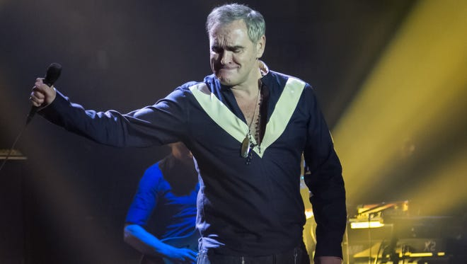 Morrissey performed last year at the Masonic Temple in Detroit. He has written General Motors CEO Mary Barra asking for Chevrolet to offer vegan-based leather as an option on its Volt and Bolt models.