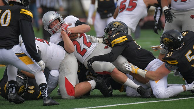 The UW-Oshkosh defense ranks 12th in the nation in total defense and fifth in scoring defense.