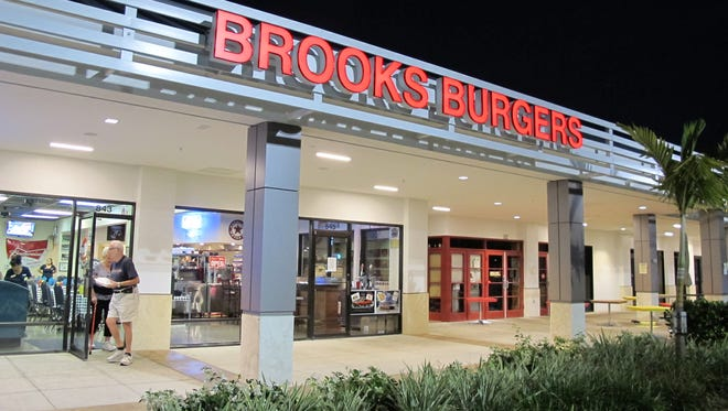 The second location of Brooks Gourmet Burgers & Dogs opened this month in The Pavilion shopping center in North Naples.