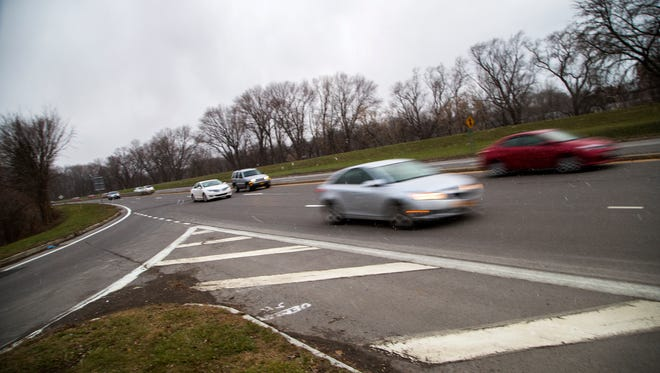 Cars travel along Route 434 East near the Pennsylvania Avenue exit on Thursday. Binghamton University student Stefani Lineva was killed in a hit-and-run incident along Route 434 East around 2:45 a.m. Saturday.