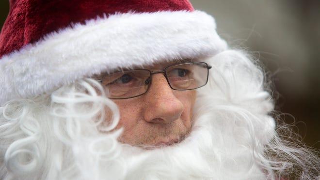 """Mountain Santa"" Mike Howard, in December 2016."
