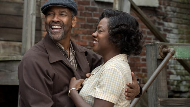 """Denzel Washington and Viola Davis in """"Fences."""" Washington also directs this adaptation of August Wilson's play."""