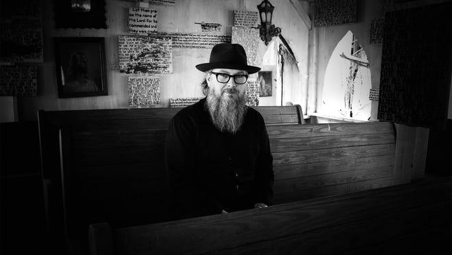 """Otis Gibbs recorded his latest album, """"Mount Renraw,"""" on his 50th birthday."""