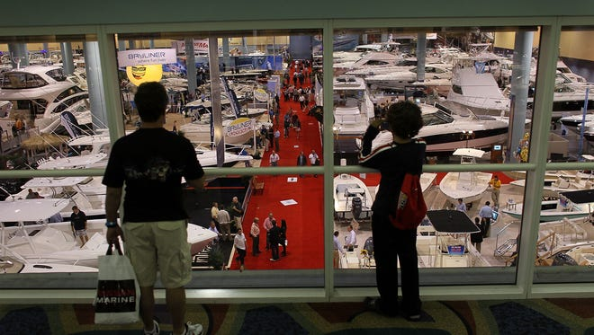 The Miami Boat Show generates about $600 million of economic activity each year and supports 55,000 Florida jobs.
