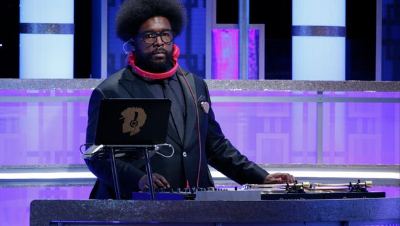 Questlove spent most of the Golden Globe Awards at