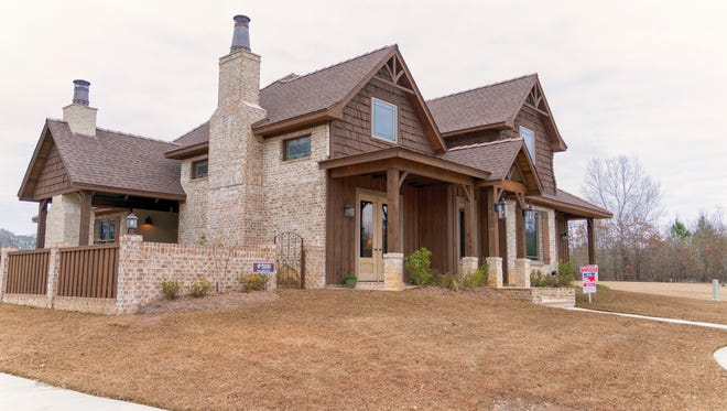 This custom home is on the market for $575,900.