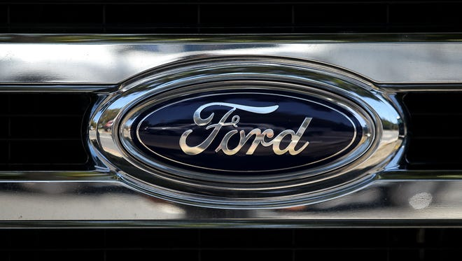 Ford Motor logo.
