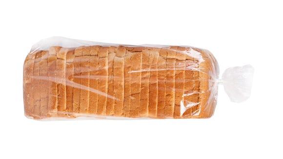 Sliced bread in plastic bag is fine no matter how the twist tie turns.