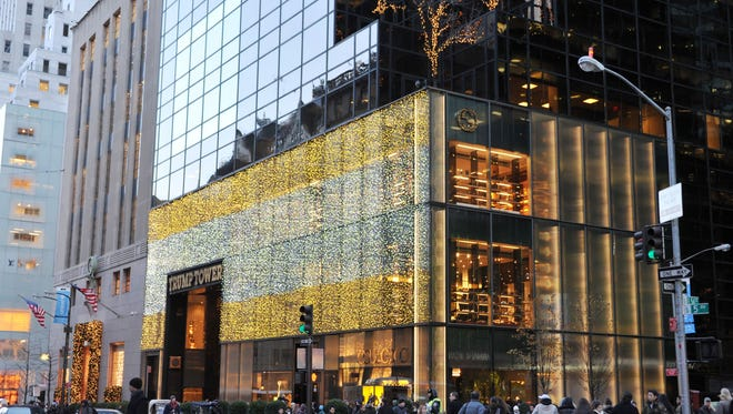 Trump Tower in midtown Manhattan is being dubbed the White House of the North.