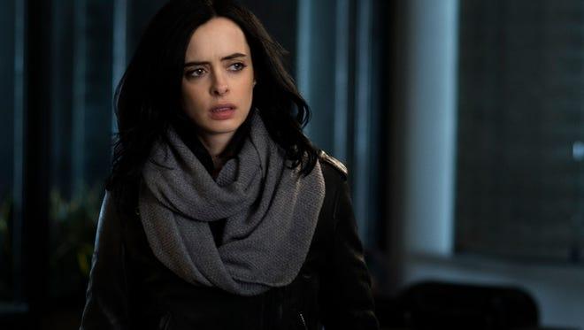 """Krysten Ritter in the Netflix original series """"Marvel's Jessica Jones."""""""