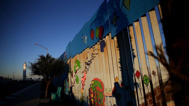 The U.S.-Mexico border in Tijuana in January 2017.