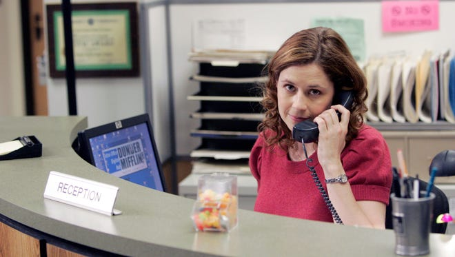 """Jenna Fischer as Pam Beesly in """"The Office."""""""