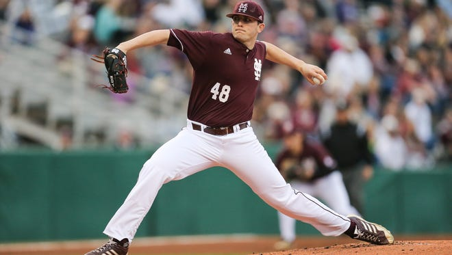Mississippi State's Konnor Pilkington.