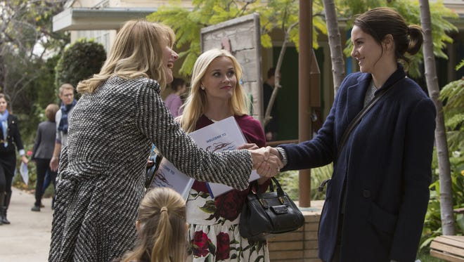 """Laura Dern, Reese Witherspoon and Shailene Woodley play moms in """"Big Little Lies."""""""