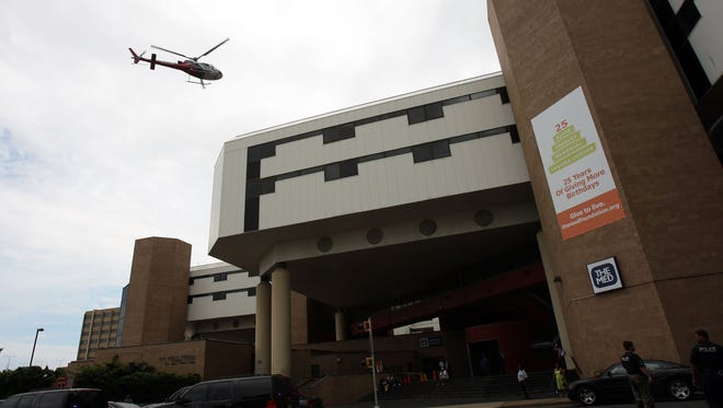 Shelby County officials may need to approve a $300 million redevelopment of the Regional Medical Center in Downtown Memphis.