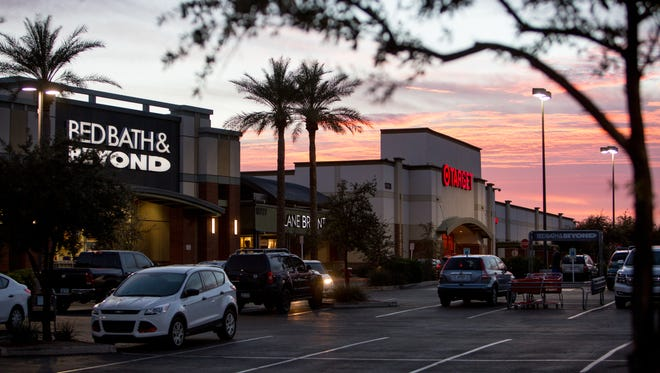 Bed, Bath & Beyond, Lane Bryant and Target sit among many chain restaurants and stores in Surprise on Feb. 16, 2017.