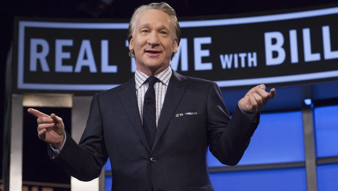 """Tickets are available to see Bill Maher, host of HBO's """"Real Time with Bill Maher,"""" perform standup comedy at 8 p.m. March 2 at Downtown's Plaza Theatre."""