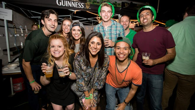 These friends had a spectacular time during Rosie McCaffrey's St. Patrick's Day celebration on Thursday, March 17, 2016.