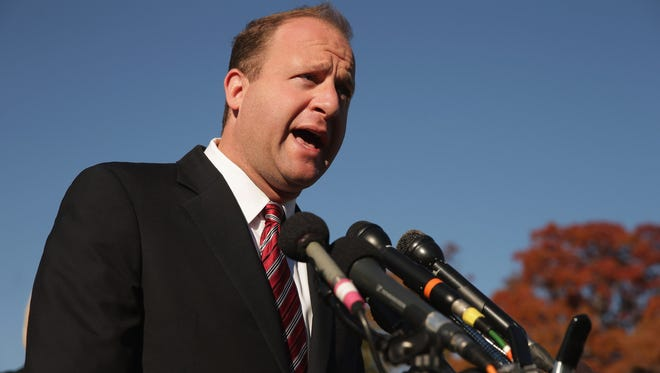 Rep. Jared Polis (D-CO) at the U.S. Capitol November 12, 2014 in Washington, DC.