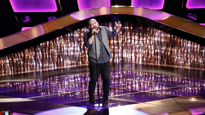 "Middlebury-born singer Troy Ramey is performing in this season's edition of ""The Voice."""