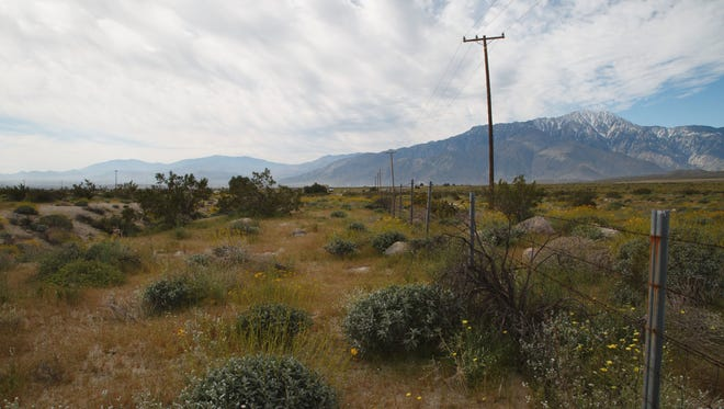 A home builder has proposed a 2,200-unit housing development on a parcel of land in Desert Hot Springs that is adjacent to the Sand to Snow National Monument.