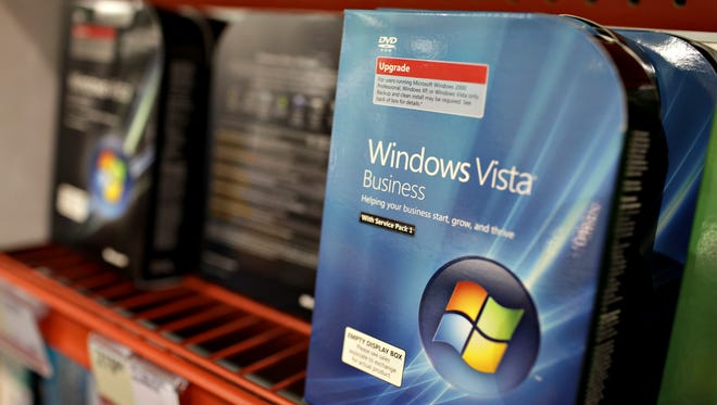 Microsoft Windows Vista was released to consumers in 2007.