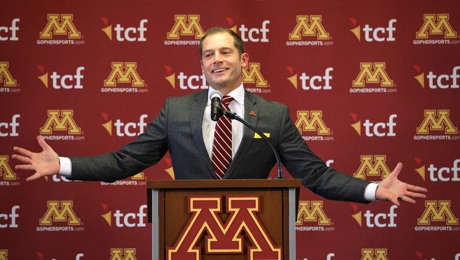 P.J. Fleck is still in overdrive after leaving Western Michigan for Minnesota this year.