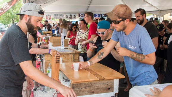 Twenty-three New Jersey breweries will be among the 82 brewers represented at Pour-A-Palooza in Westmont.