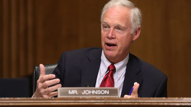Sen. Ron Johnson has issues with the lack of information surrounding the Senate's health care bill.