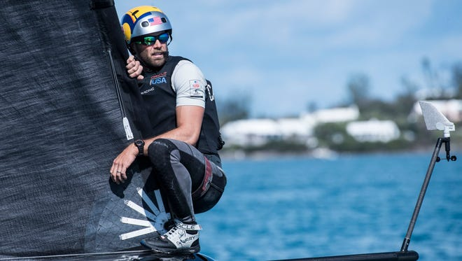 Andrew Campbell, one of the Oracle Team USA tacticians, sailed at Georgetown and made the 2008 Olympic team before joining Oracle in its America's Cup campaign.
