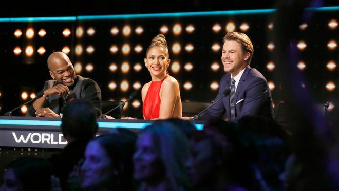 Ne-Yo, Jennifer Lopez and Derek Hough judge NBC's popular 'World of Dance.'