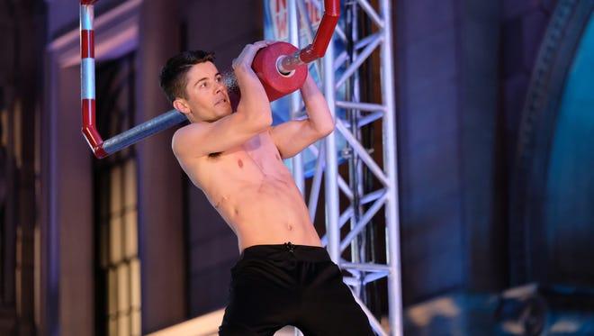 Mike Diatte at the Los Angeles Qualifier of 'American Ninja Warrior' Season 9.