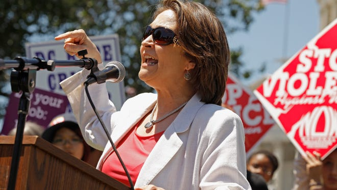Departing National Organization for Women President Terry O'Neill