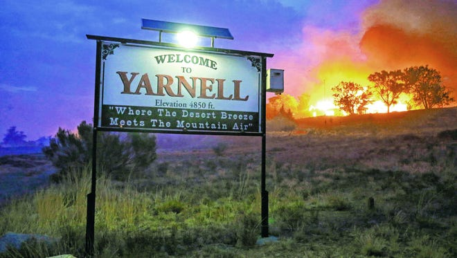 The Yarnell Hill Fire in 2013 killed 19 members of the Granite Mountain Hotshots who were battling the blaze, making it the deadliest wildfire on record in Arizona.