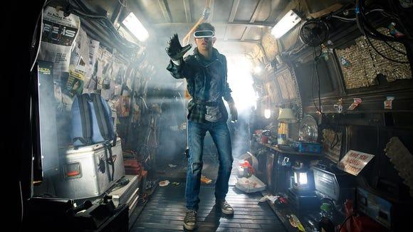 Tye Sheridan stars as Wade Watts in Steven Spielberg's