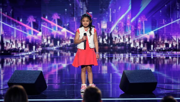 Angelica Hale gets the golden buzzer on 'America's
