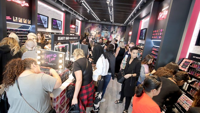 The NYX Professional Makeup Store in Los Angeles, California, last June.  (Photo by Rachel Murray/Getty Images for NYX Professional Makeup) ORG XMIT: 700057687 ORIG FILE ID: 694246108
