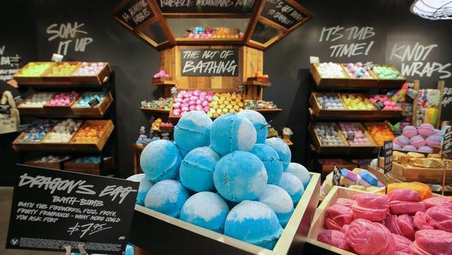 Lush Fresh Handmade Cosmetics will open Thursday in the Fox River Mall in Grand Chute.