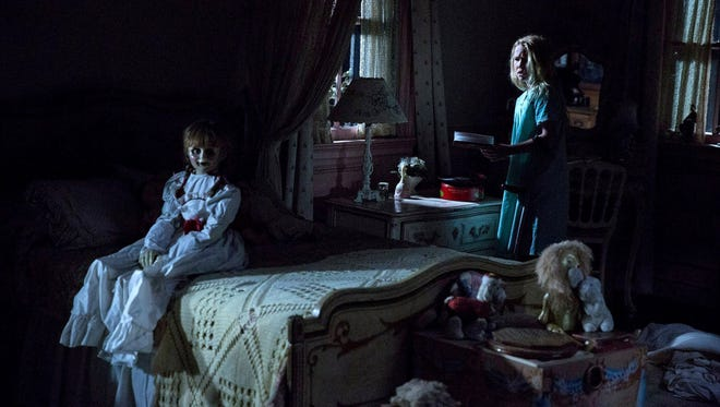 """Talitha Bateman stars in """"Annabelle: Creation."""" The movie is playing at Regal West Manchester Stadium 13, Frank Theatres Queensgate Stadium 13 and R/C Hanover Movies."""