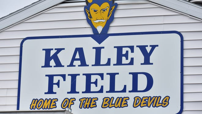 Kaley Field, home of the Greencastle-Antrim Blue Devils.