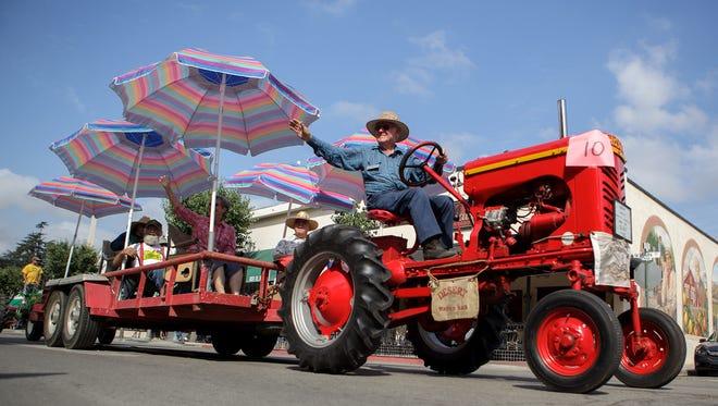 The 15th Labor Day Parade will roll down Main Street downtown Santa Paula Sept. 2.